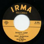 "45Re ✦ JIMMY McCRACKLIN ✦ "" Savoy's Jump / I'm The One"" Nice R&B Rocker ♫"